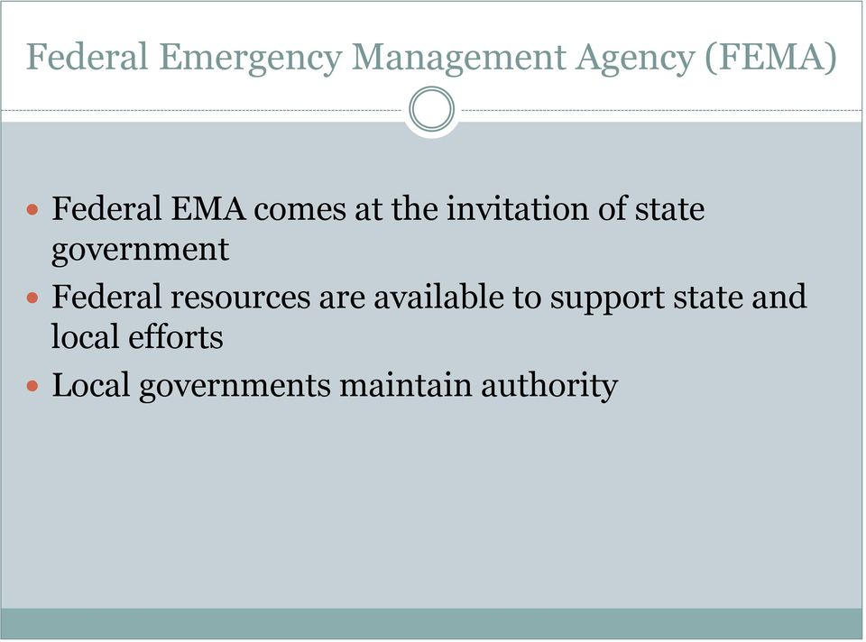 Federal resources are available to support state