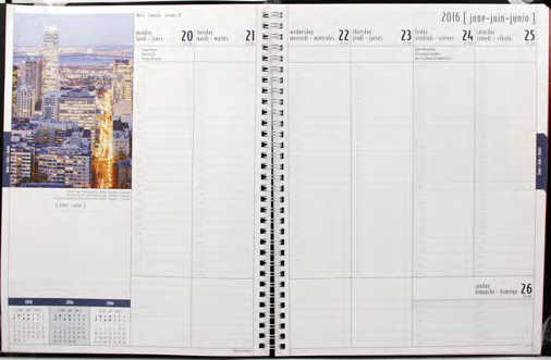 Brownline Daily Calendar Refill C1r Neither Too Hard Nor Too Soft Calendars & Planners Refills