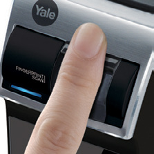 VARIOUS ACCESS Three access solutions,, fingerprint verification or key for your convenience.