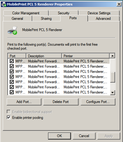 Installation and configuration guide for pharos uniprint pdf advanced configuration 2 select the manufacturer and model that corresponds to the devices malvernweather Image collections
