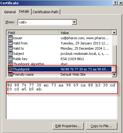 Installation and configuration guide for pharos uniprint pdf appendix 5 setting up ssl for mobileprint hexadecimal characters as shown in the image below malvernweather Image collections