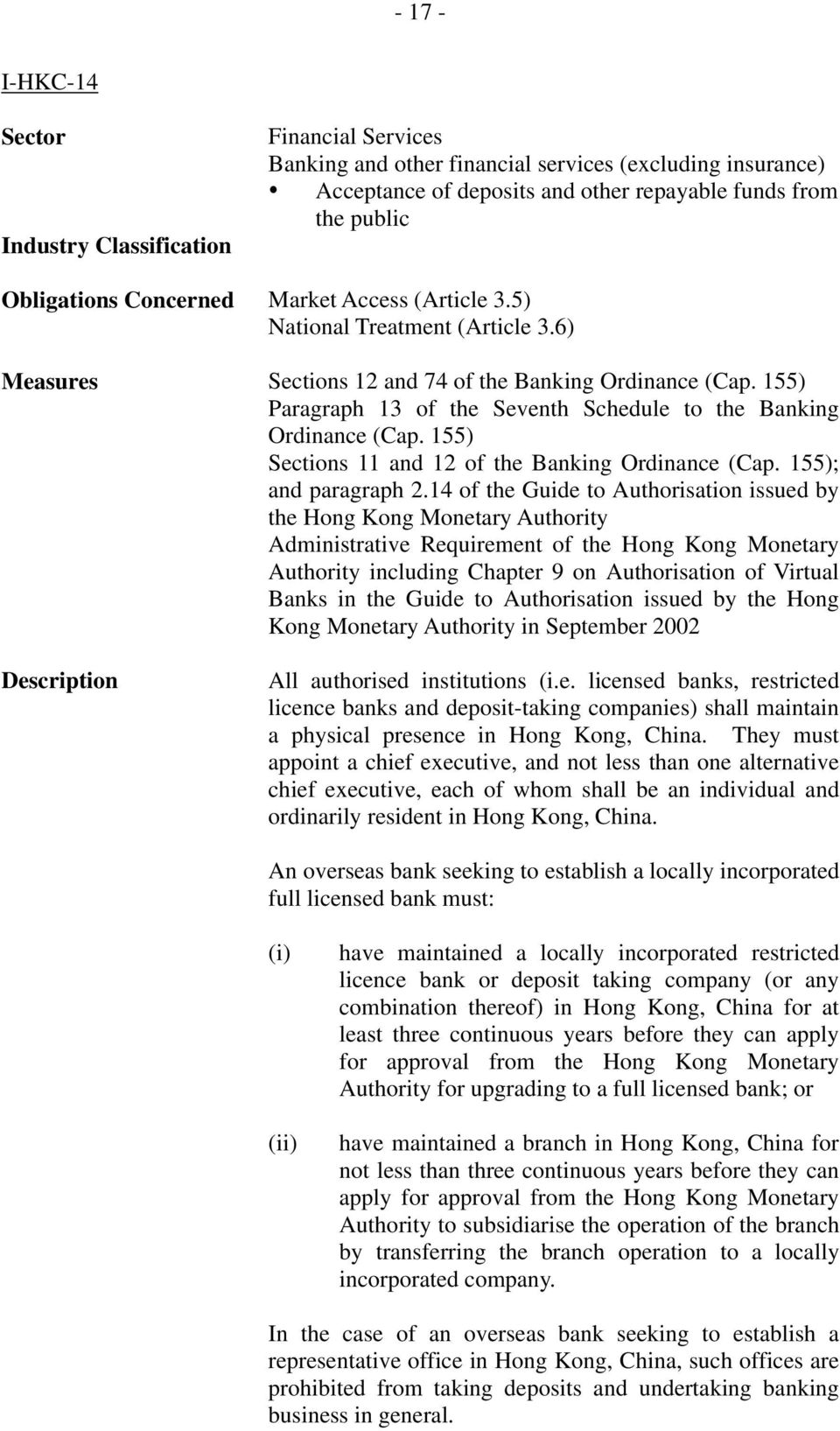 14 of the Guide to Authorisation issued by the Hong Kong Monetary Authority Administrative Requirement of the Hong Kong Monetary Authority including Chapter 9 on Authorisation of Virtual Banks in the