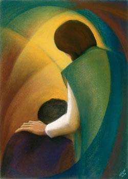 Jesus appears to Peter by Sr Mary Stephen CRSS We believe in healing beyond all knowing from the Christ whose