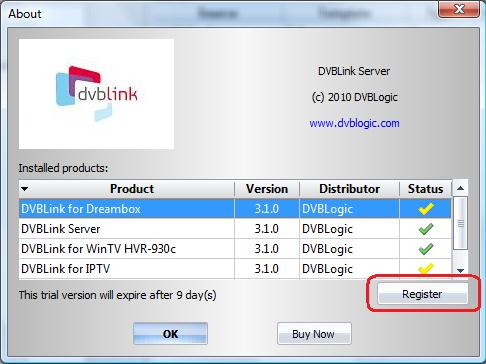 DVBLink For Dreambox  Installation and configuration manual - PDF