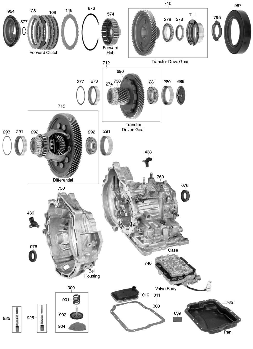 ford manual transmissions numbers