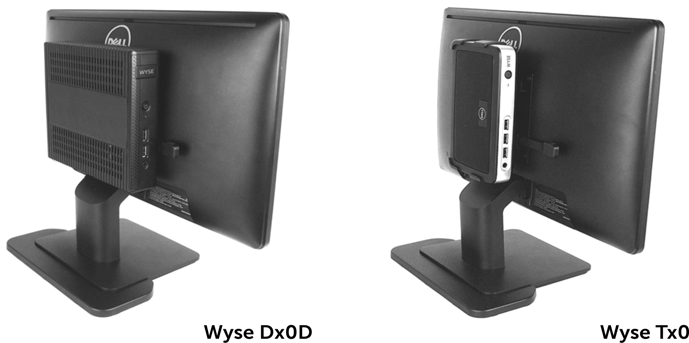 Dell Wyse Client VESA Mounting Bracket for Dell E Series