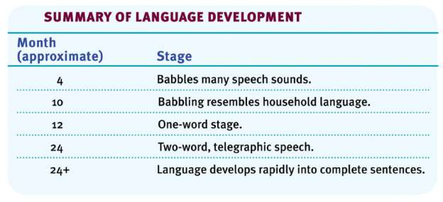 Module 24 Language and Thought Language our spoken, written, or gestured works and the way we combine them to communicate meaning Phoneme in a spoken language, the smallest distinctive sound unit