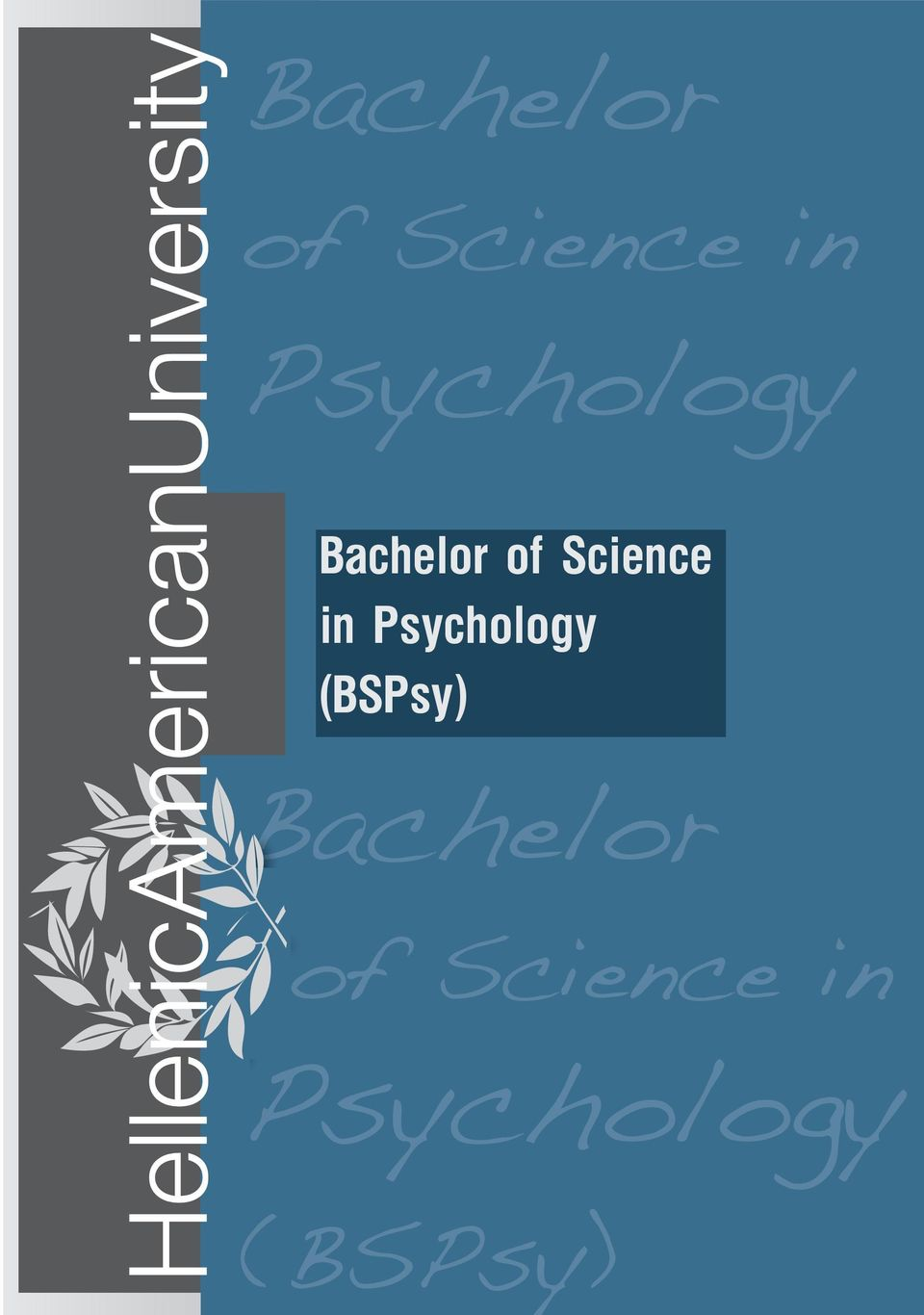 (BSPsy)  Psychology (BSPsy)
