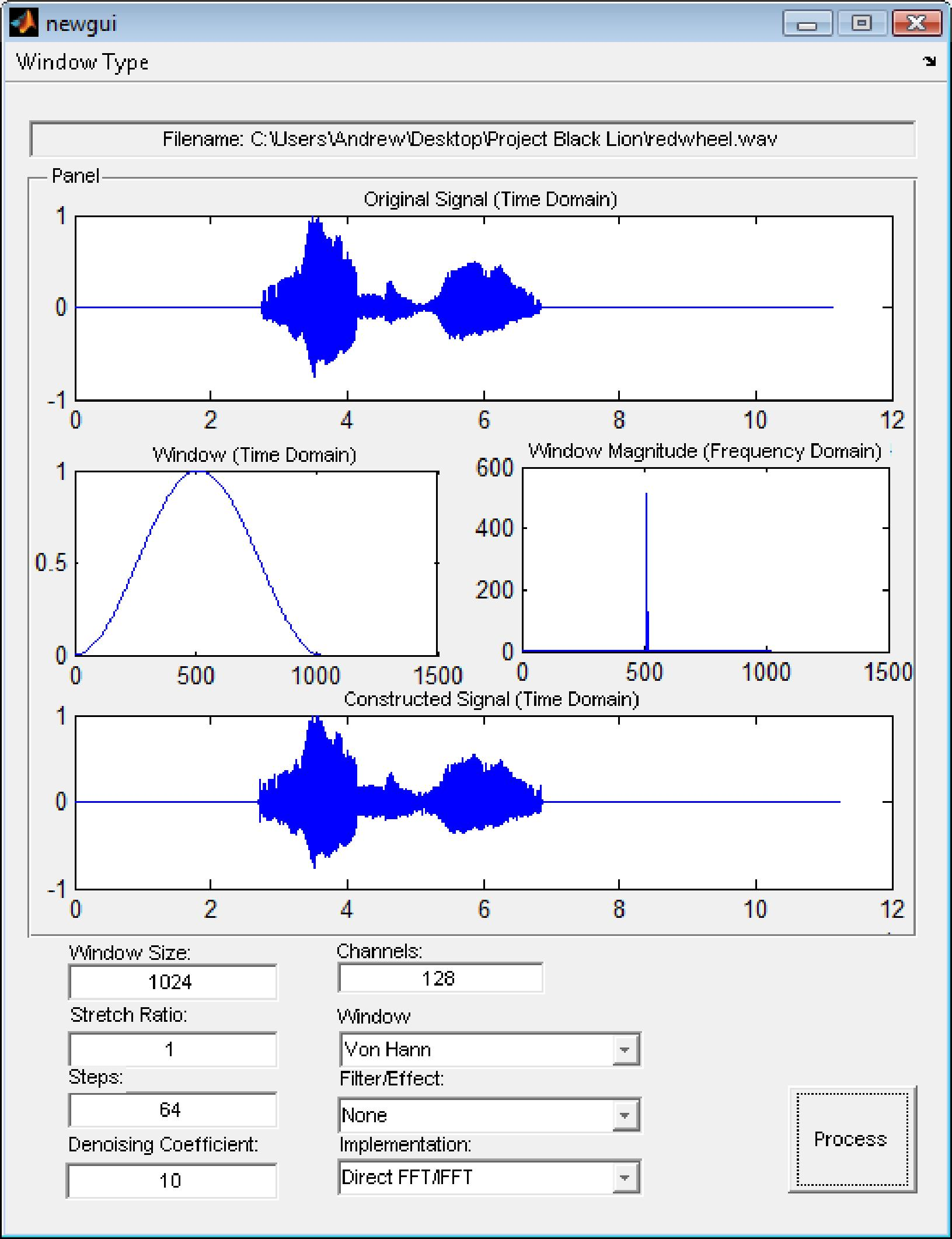 Phase-Vocoders: Direct FFT/IFFT Approach - PDF