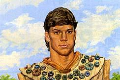 Captain Moroni was the leader of the Nephite armies.
