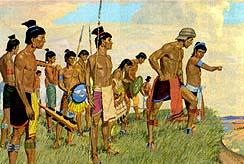 The Lamanites had a larger army, but they wore very little clothing.