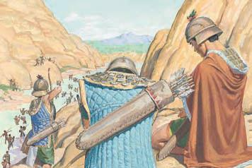 Even though the Nephite army wore armor, why did they fear and want