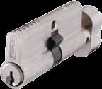 SGC Z Series Zamac Euro Profile Cylinders Construction: Zamac cylinder Available in mm length Available in Double cylinder, Cylinder thumb-turn & WC cylinders. Complies with EN 1303:2005.