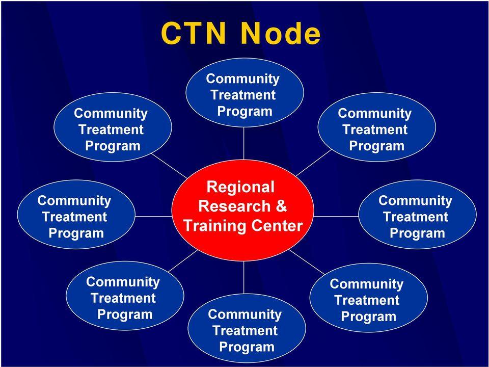 Research & Training Center Community Treatment Program Community