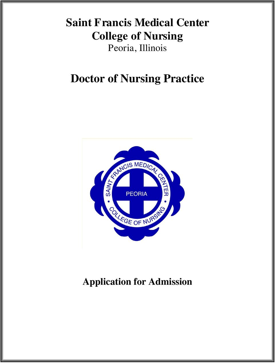 Illinois Doctor of Nursing