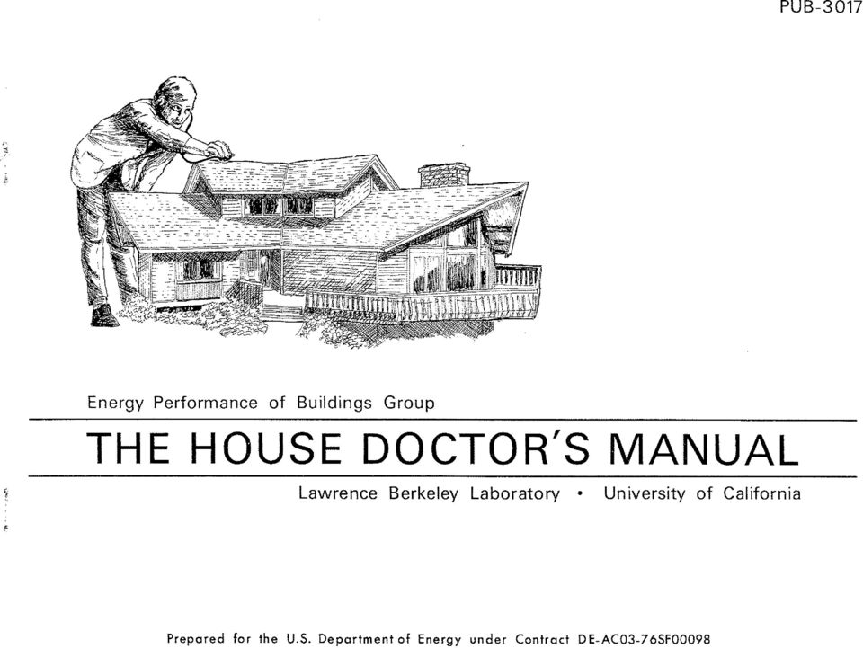 DOCTOR'S MANUAL Lawrence