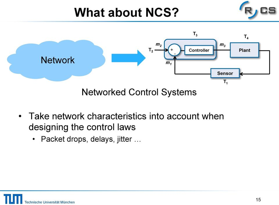 Plant Networked Control Systems T 1!
