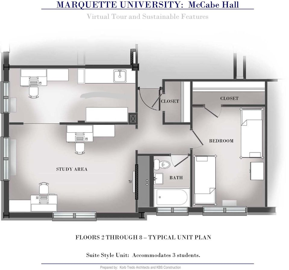 THROUGH 8 TYPICAL UNIT PLAN