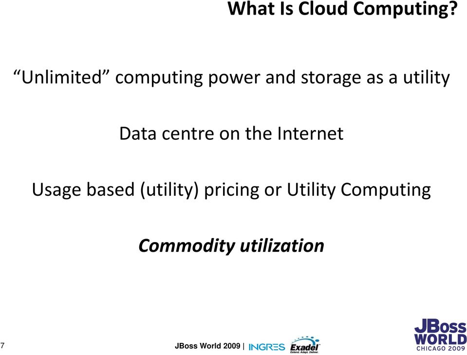 utility Data centre on the Internet Usage