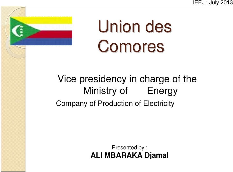 Energy Company of Production of