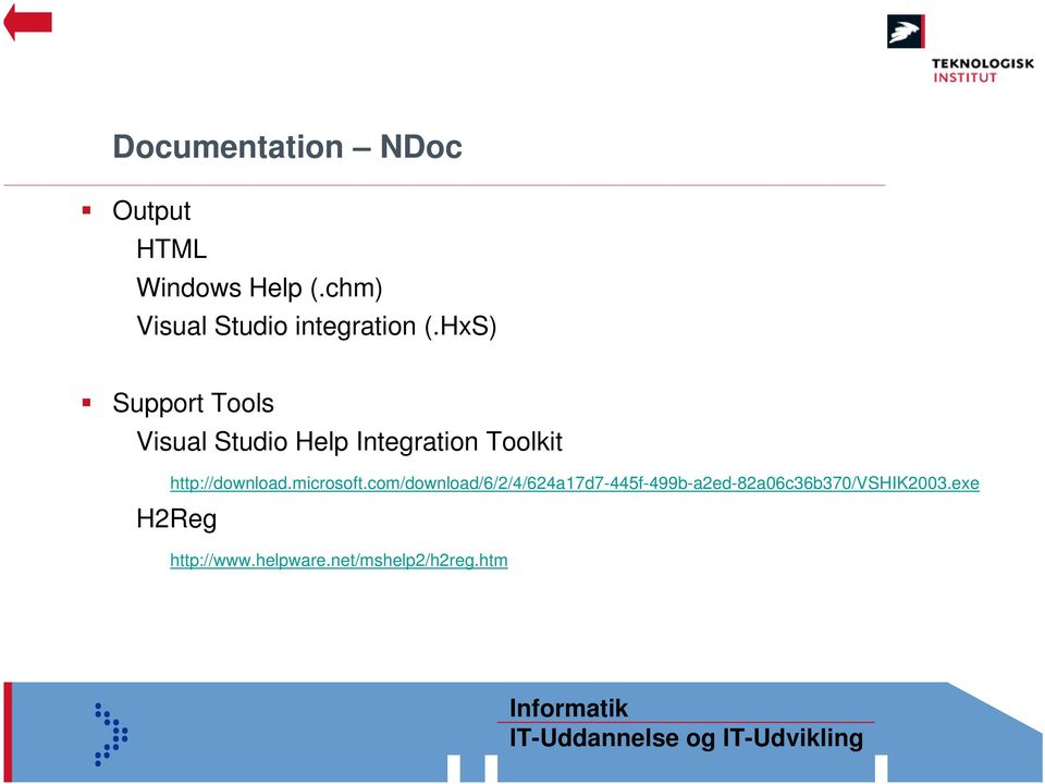 HxS) Support Tools Visual Studio Help Integration Toolkit