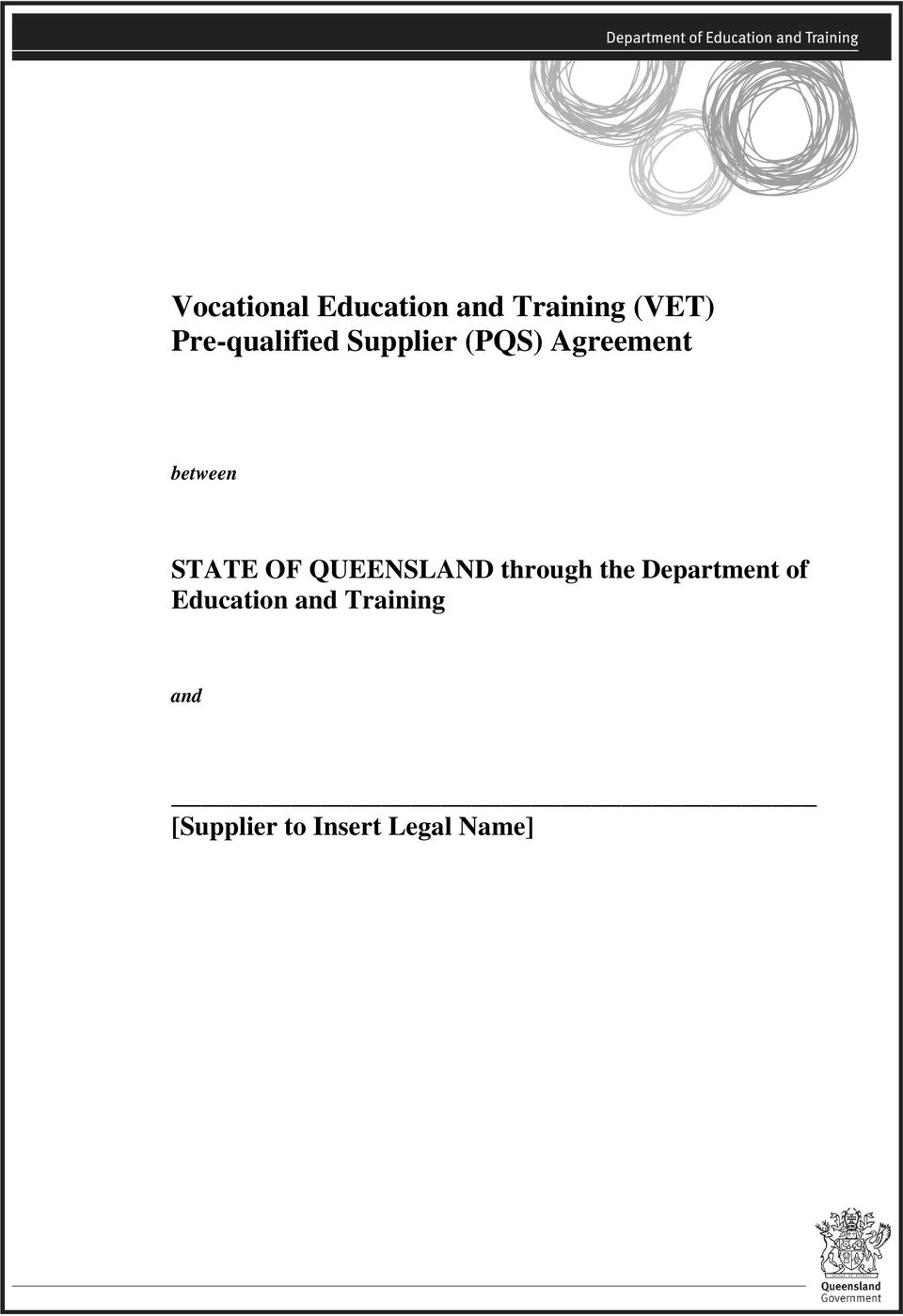 STATE OF QUEENSLAND through the Department of