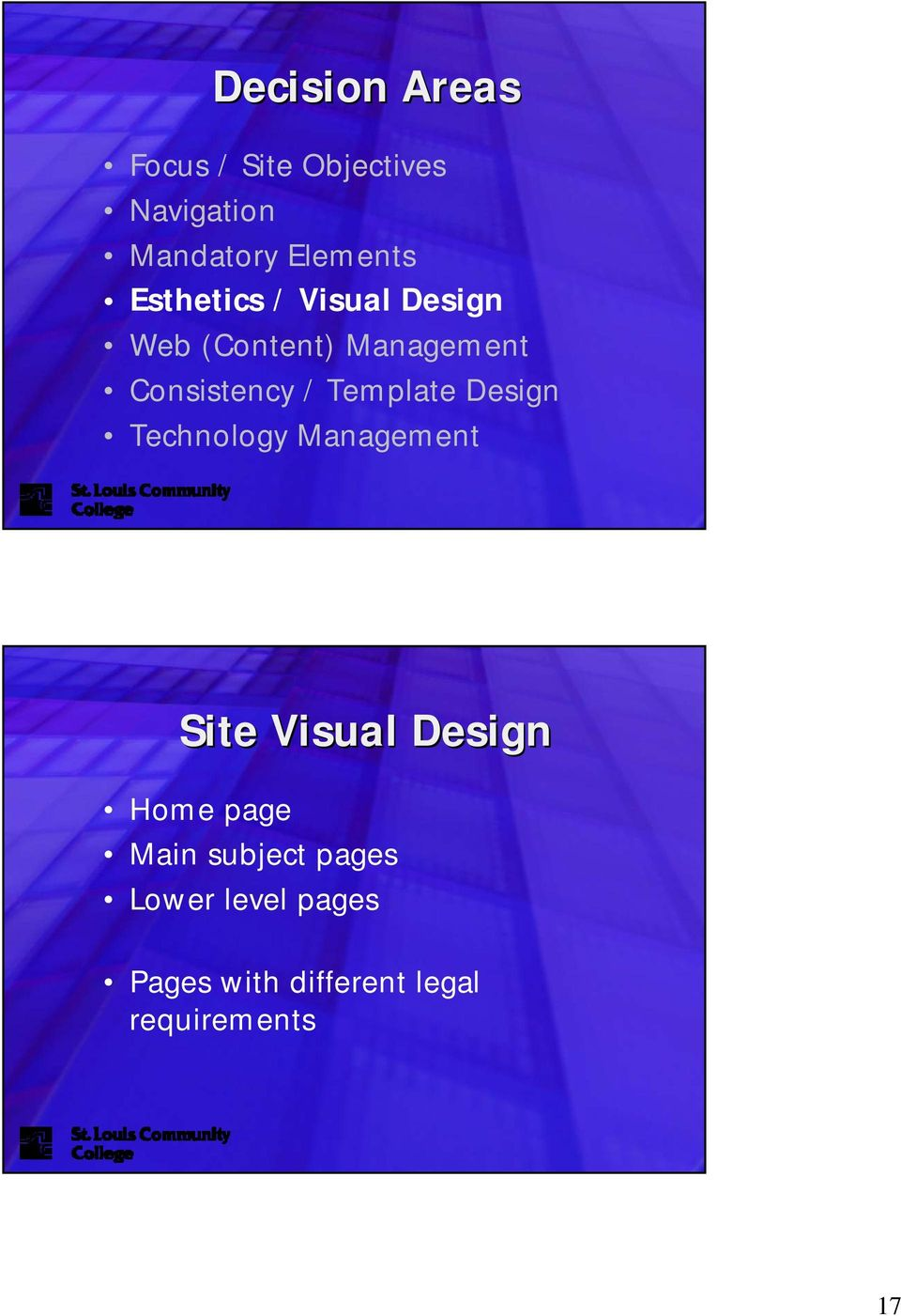 Template Design Technology Management Site Visual Design Home page