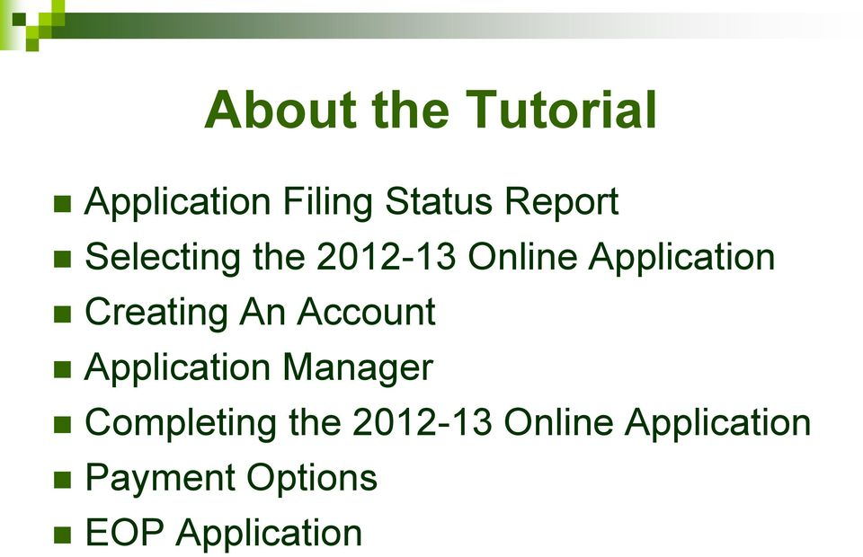 An Account Application Manager Completing the