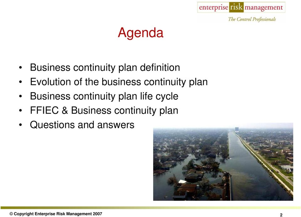 plan life cycle FFIEC & Business continuity plan