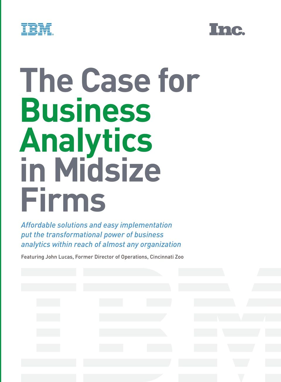 power of business analytics within reach of almost any