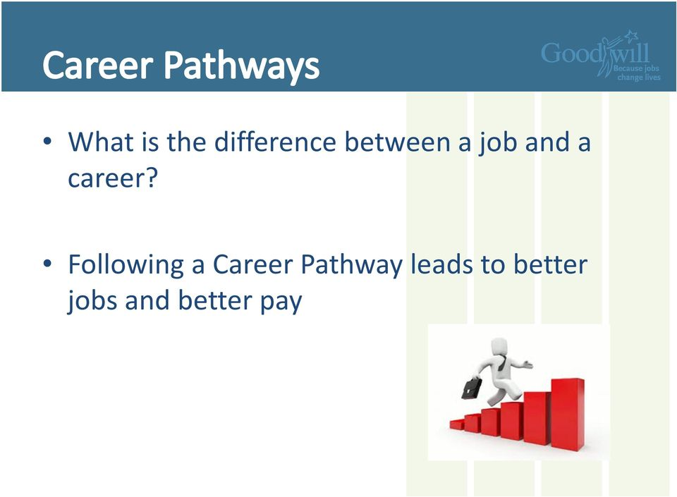Following a Career Pathway