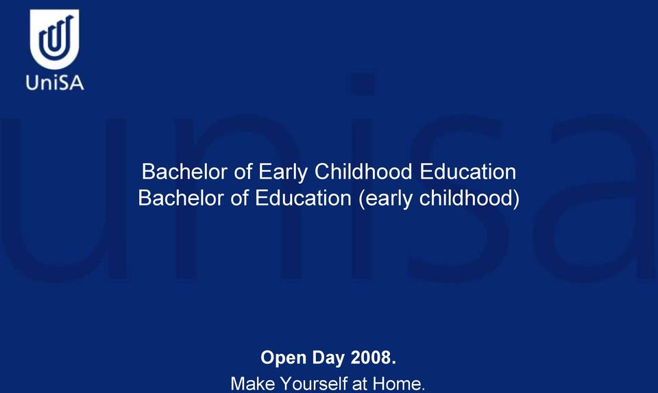 Education (early childhood)