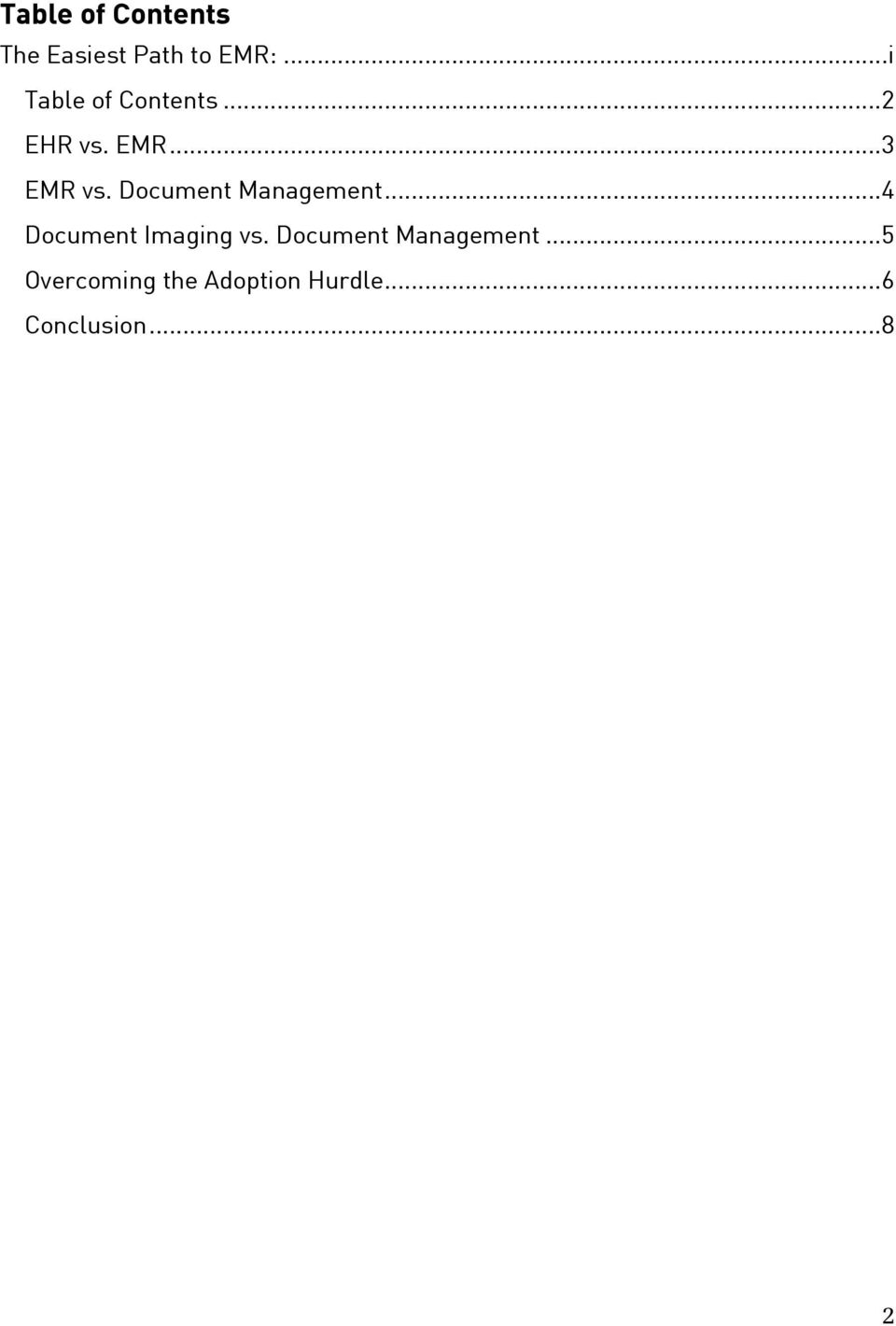 Document Management...4 Document Imaging vs.