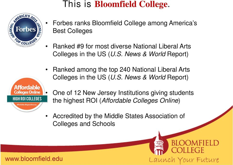 Arts Colleges in the US