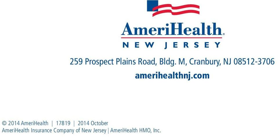 com 2014 AmeriHealth 17819 2014 October