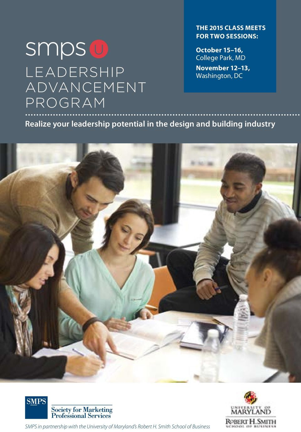 your leadership potential in the design and building industry SMPS in