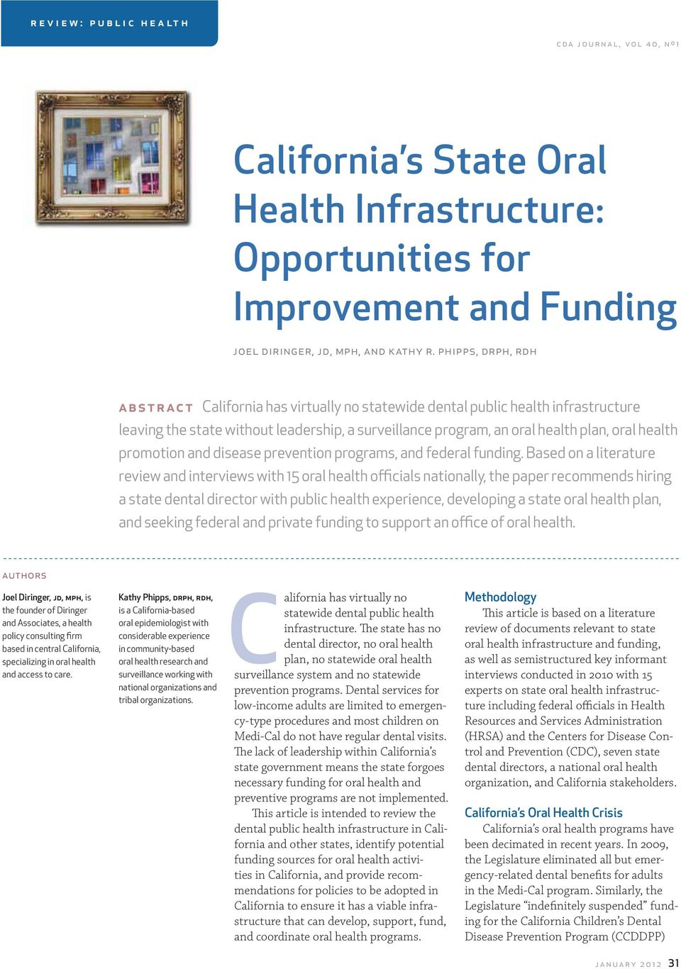 promotion and disease prevention programs, and federal funding.