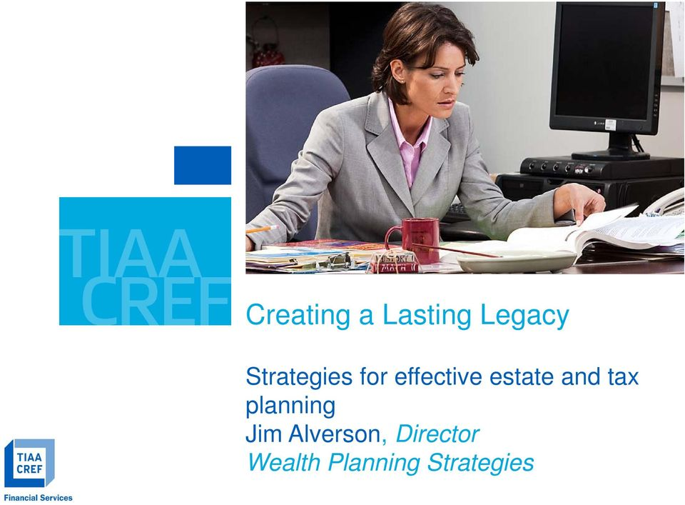 effective estate and tax planning