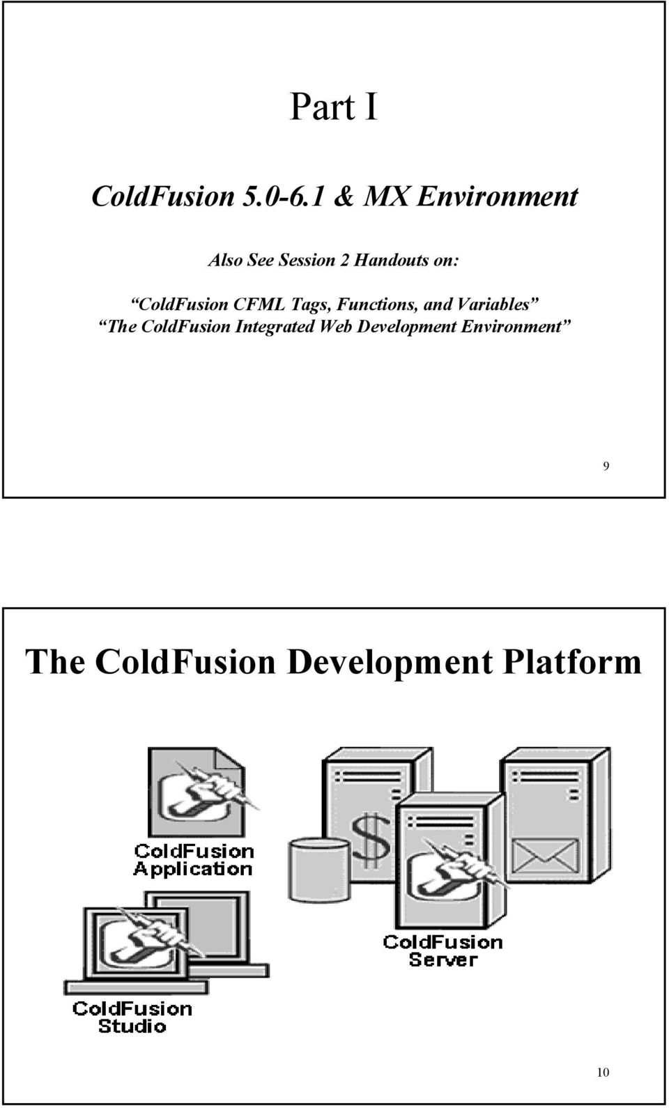 ColdFusion CFML Tags, Functions, and Variables The