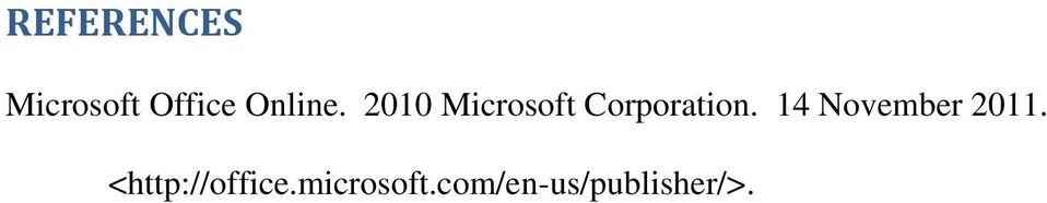 2010 Microsoft Corporation.