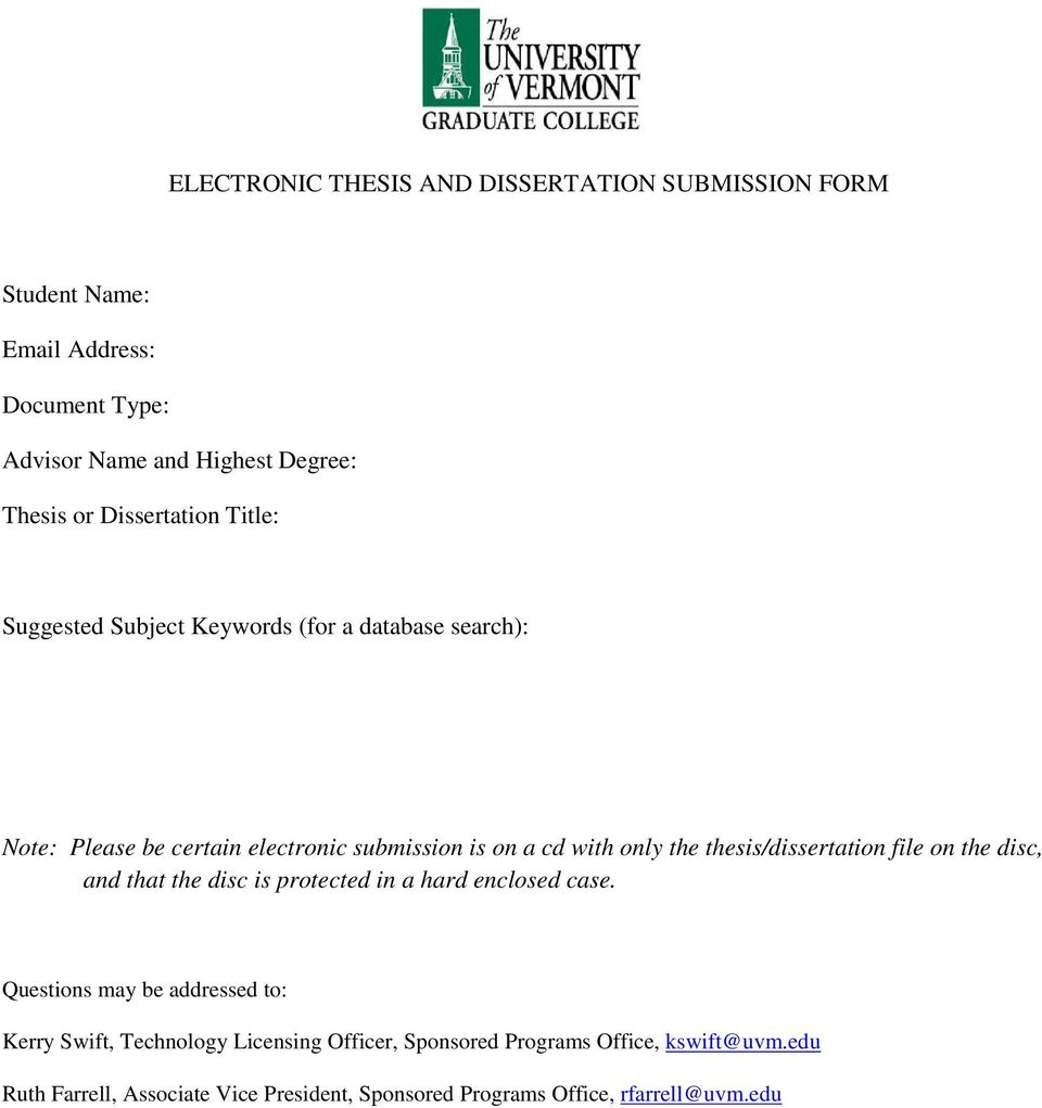 uvm thesis template
