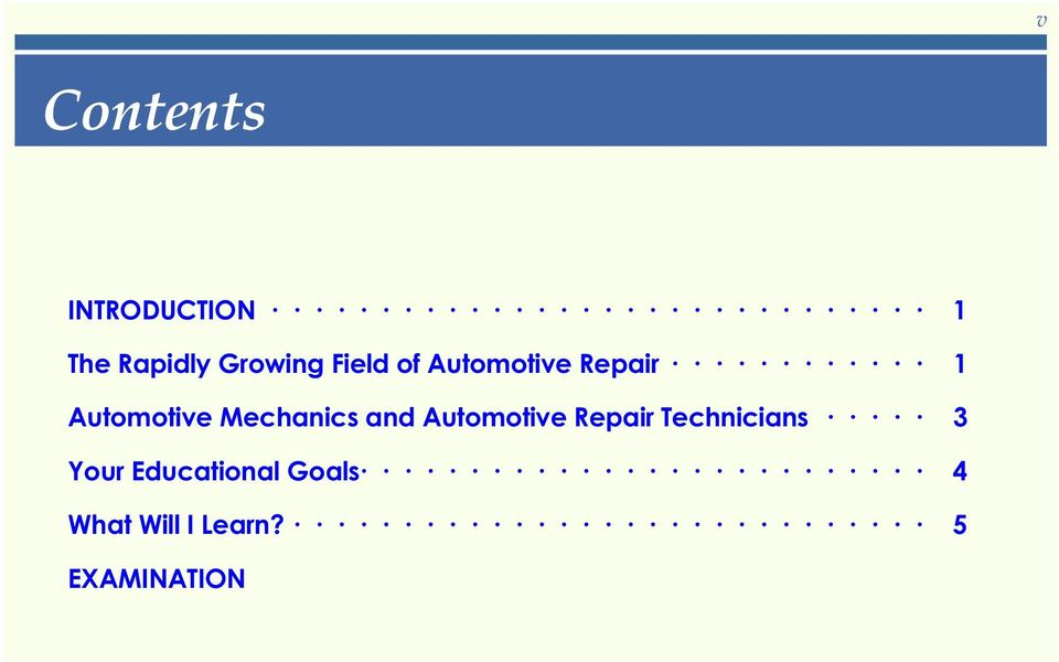 Mechanics and Automotive Repair Technicians 3