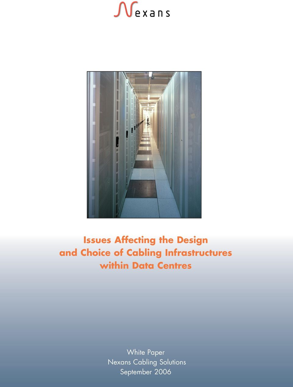 within Data Centres White Paper