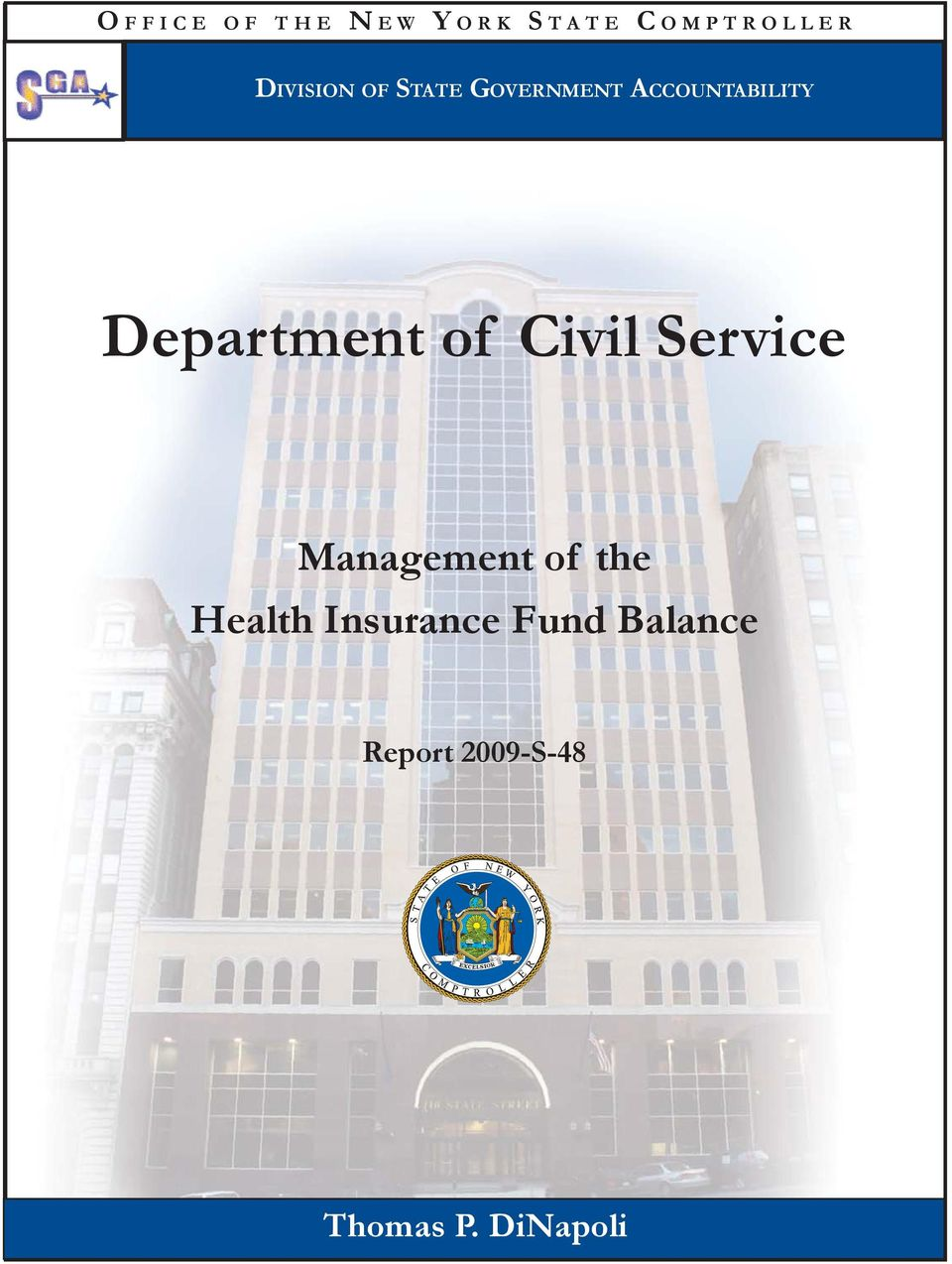 Department of Civil Service Management of the