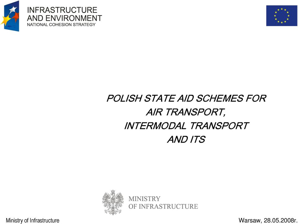 INTERMODAL TRANSPORT AND
