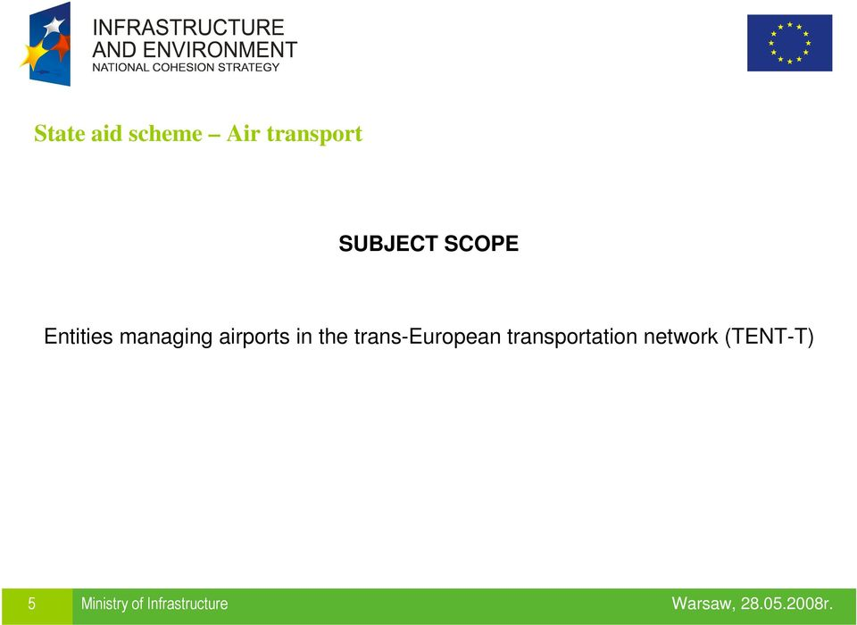 the trans-european transportation
