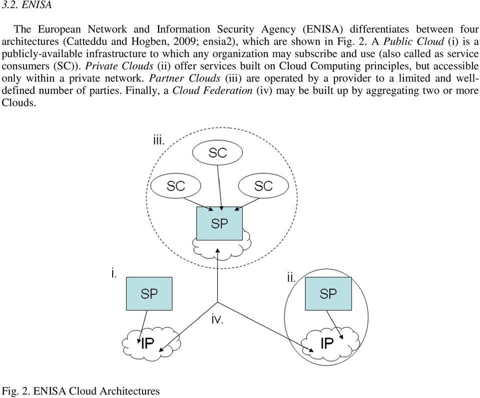 Private Clouds (ii) offer services built on Cloud Computing principles, but accessible only within a private network.