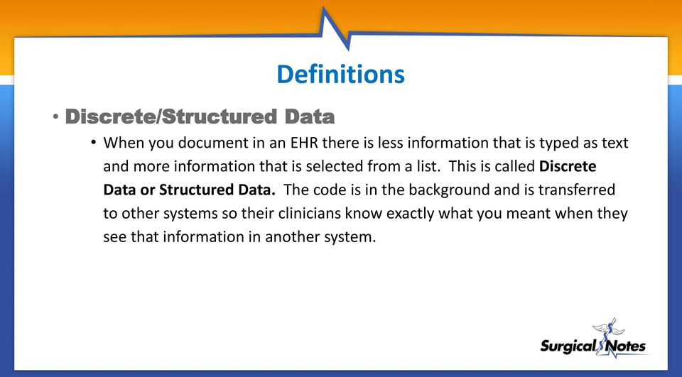 This is called Discrete Data or Structured Data.
