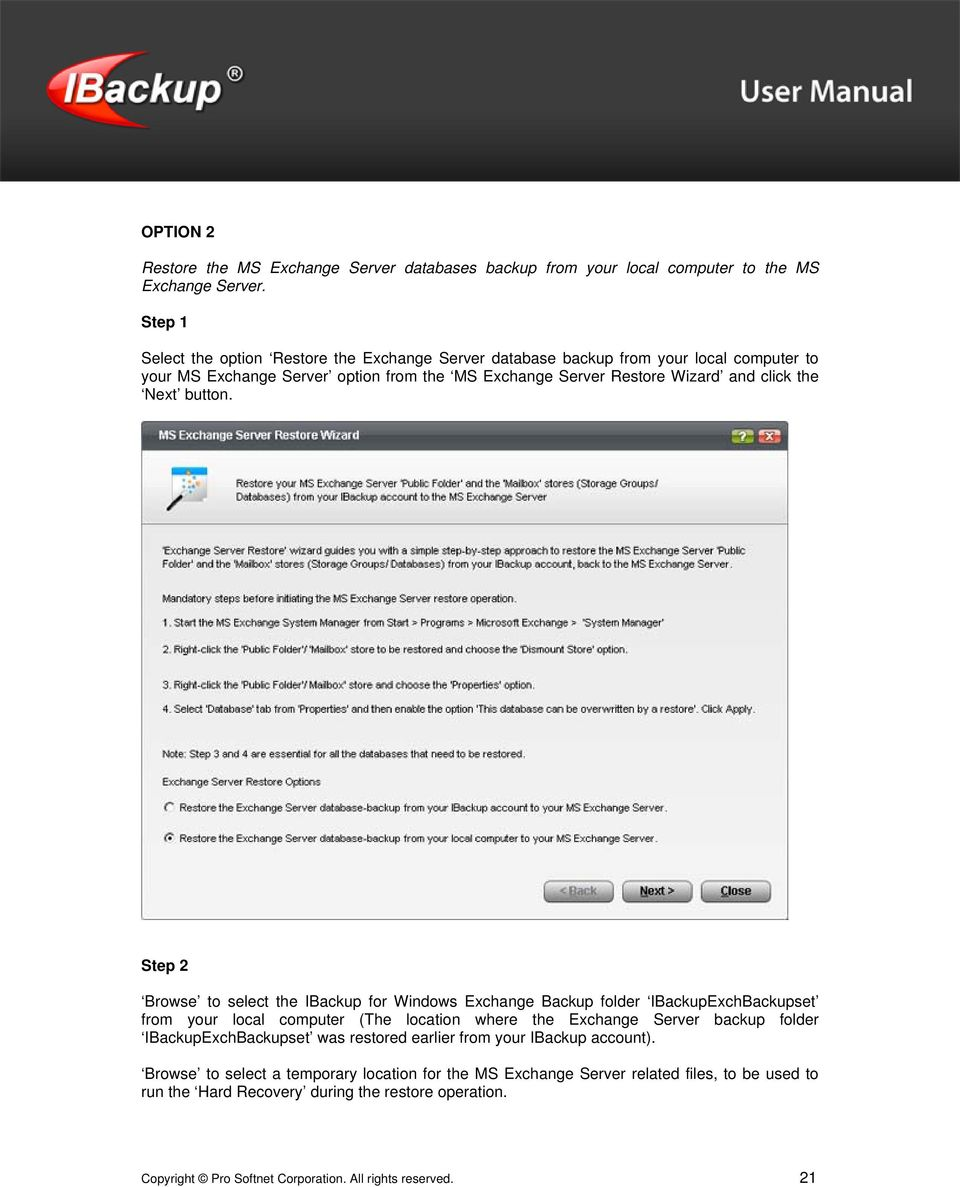 Next button.