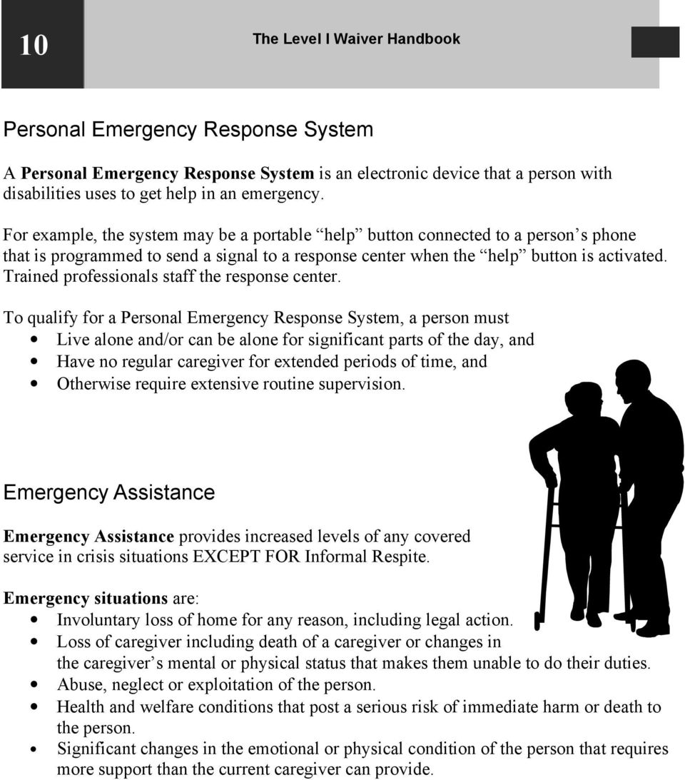 Trained professionals staff the response center.